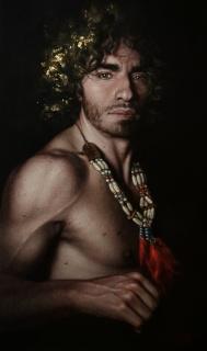 Manuel Peña Suárez, Vedró con mio diletto [Premio Arte Miranda 1] — Cortesía de ASPAS Pintores Pastelistas Españoles