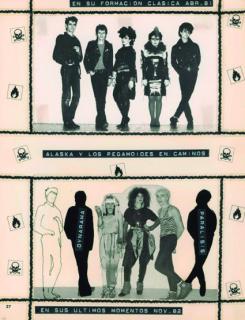 Miguel Trillo. Rockocó: imágenes del pop-rock madrileño en los ochenta [n.º 3, p. 27], 1983 — Cortesía de PHotoEspaña