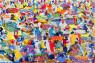 Larry Otoo - Sunny day - 2020 - 100cm H x 150cm W - Acrylic on canvas
