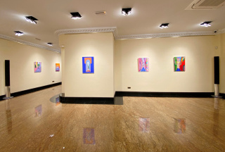 """Vista de la exposición """"Mi talismán"""""""