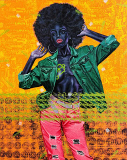 OOA Gallery. Angel: Afro Seduction.