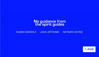No guidance from the spirit guides