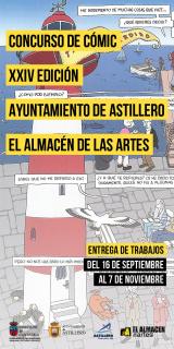 XXIV Concurso Cómic Ayuntamiento de Astillero - El Almacén de las Artes