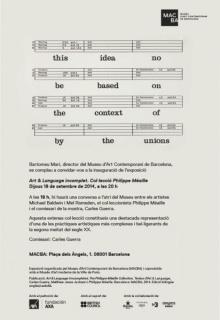 Art & Language: Incompleto. La Colección de Philippe Méaille