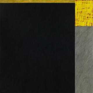 Jordi Teixidor: 1289, óleo sobre tela, 190 x 190 cm