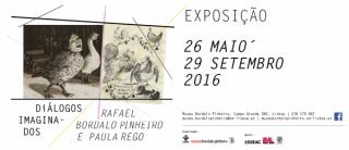 Diálogos Imaginados, Rafael Bordalo Pinheiro e Paula Rego