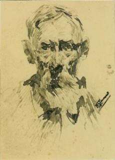 Francesc Gimeno, Autoretrat – Cortesía del Gremi de Galeries d'Art de Catalunya