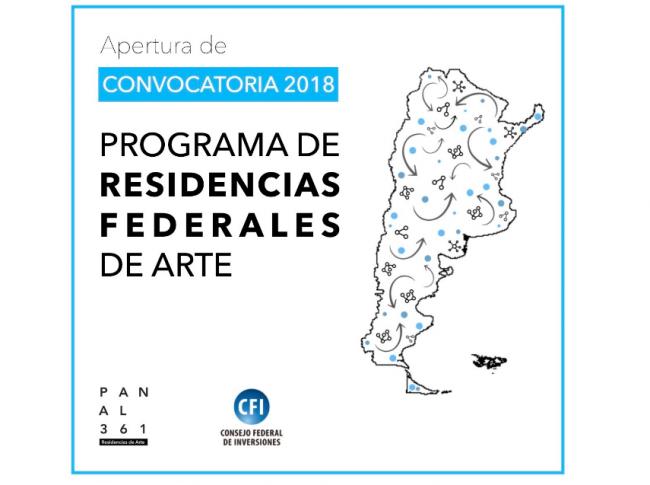 Programa de Residencias Federales de Arte 2018