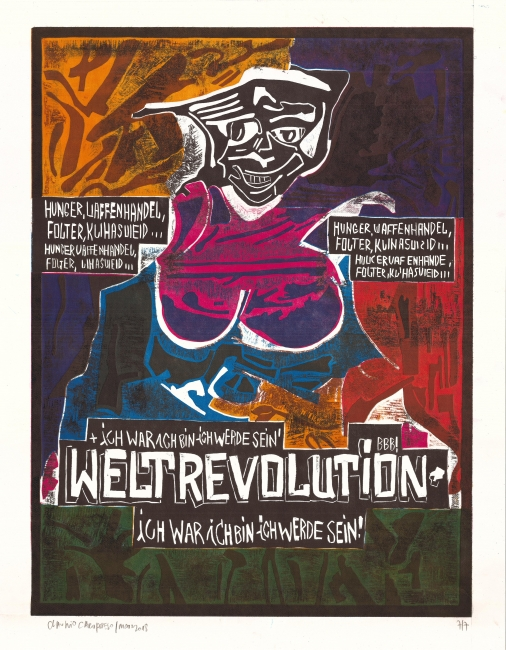 Weltrevolution por Claudio Caropreso