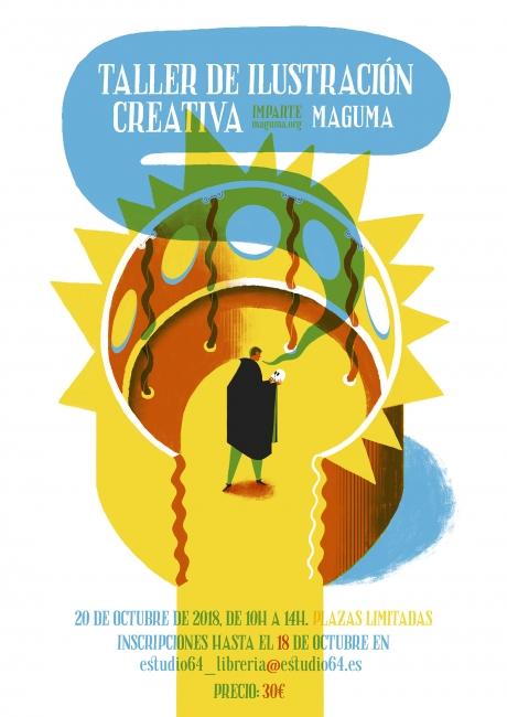 Taller de ilustración creativa con Maguma