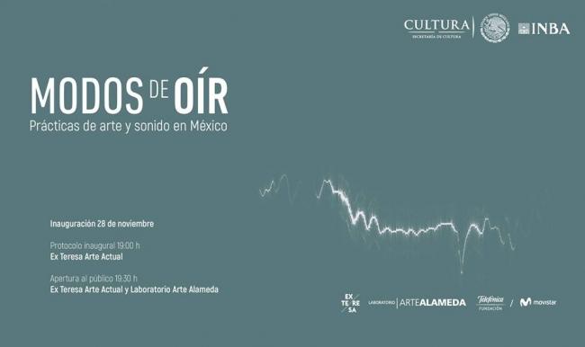 Modos de oír: prácticas de arte y sonido en México
