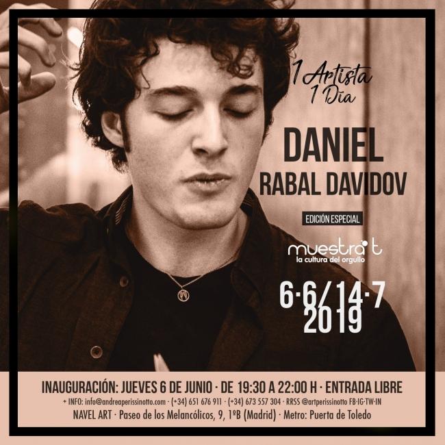 Daniel Rabal Davidov (Madrid, España 1998) - escritor, poeta y músico
