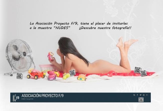 Asociación Fotográfica Proyecto F9 «Nudes» — Cortesía del Centro de Arte Tomás y Valiente - CEART Fuenlabrada