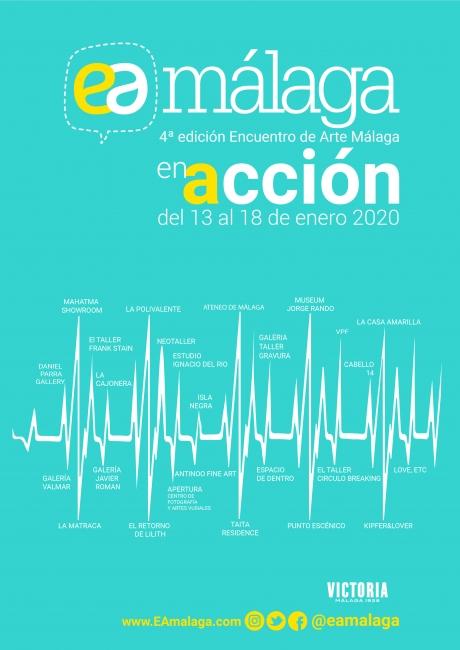 EAmalaga 4ª edición Encuentro de Arte Málaga: En Acción