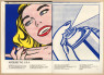 "Roy Lichtenstein. Girl/Spray Can from Walasse Ting. 1¢ Life, 1963. © The Trustees of the British Museum. © Estate of Roy Lichtenstein/All rights reserved/ VEGAP 2020 — Cortesía de la Fundación ""la Caixa"""