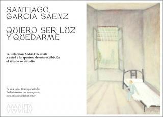 Santiago García Sáenz. Quiero ser luz y quedarme