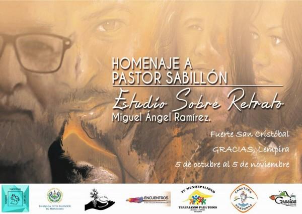 Homenaje a Pastor Sabillón