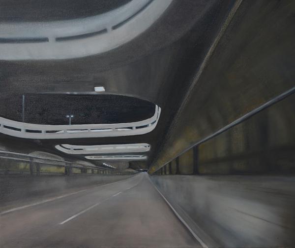 Cristiani Papini, Passagem II, 2014, O?leo sobre Tela, 60x70cm