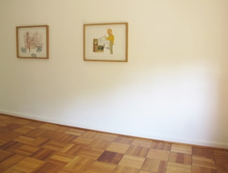 César Gabler: A Crossing Through Drawing, Cecilia Brunson Projects Santiago installation view