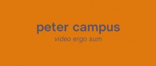 Peter Campus. Video ergo sum