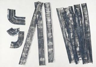 Hans Hartung, S.T., 1970 – Cortesía del Gremi de Galeries d'Art de Catalunya