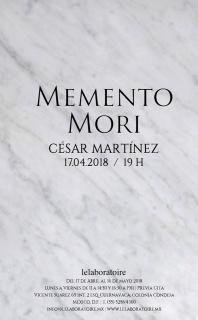 César Martínez. Memento mori