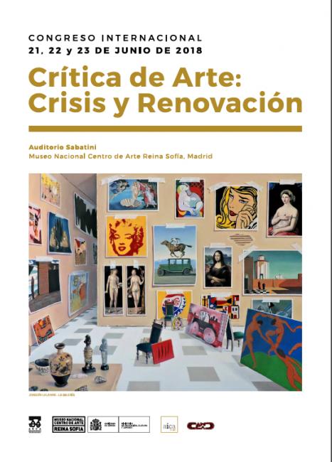 Cartel de Crítica de Arte: Crisis y Renovación