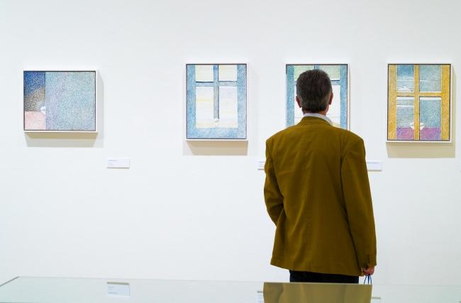 """Exposición Cristino de Vera. Al silencio CaixaForum Madrid — Cortesía de Obra Social """"la Caixa"""""""