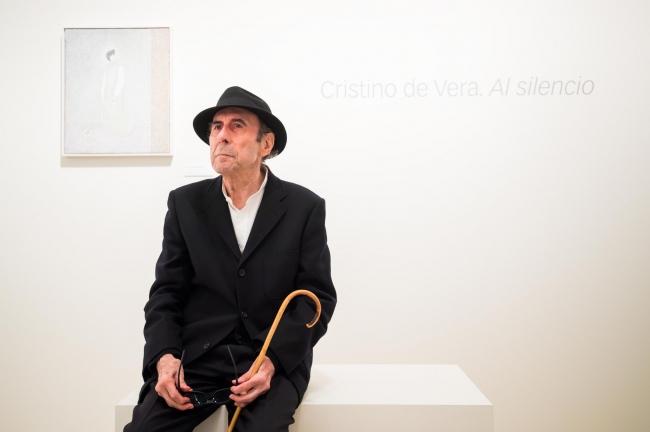 """Retrato de Cristino de Vera. Exposición Cristino de Vera. Al silencio CaixaForum Madrid — Cortesía de Obra Social """"la Caixa"""""""