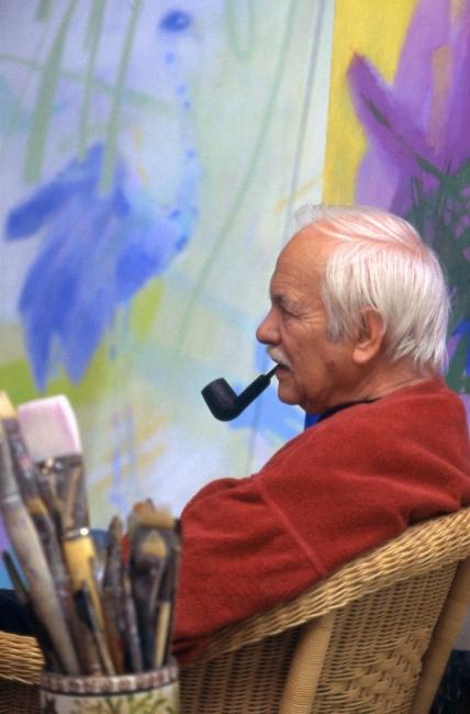 Retrato de Julio Resende — Cortesía de Lugar do Desenho — Fundação Júlio Resende
