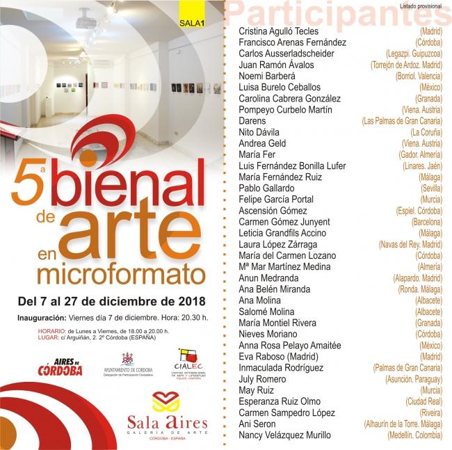 5ª Bienal de Arte en Microformato