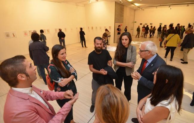 Inauguración exposición Novos Valores 3