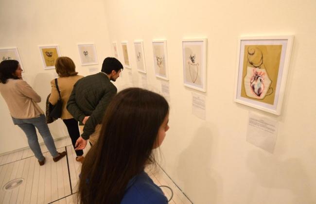 Inauguración exposición Novos Valores 2