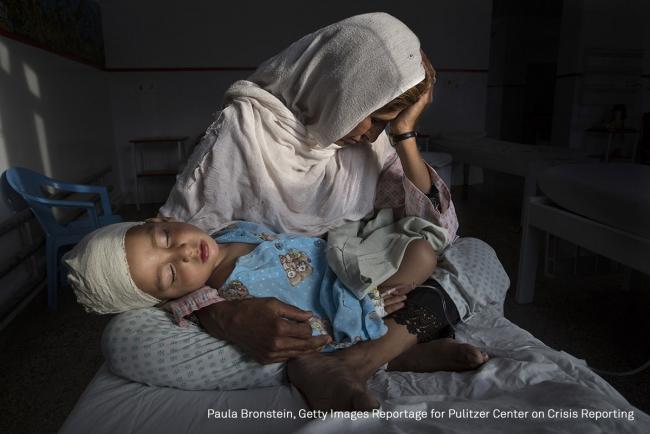 Paula Bronstein. Getty Images Reportage. Pulitzer Center on Crisis Reporting — Cortesía de la Fundación Chirivella Soriano
