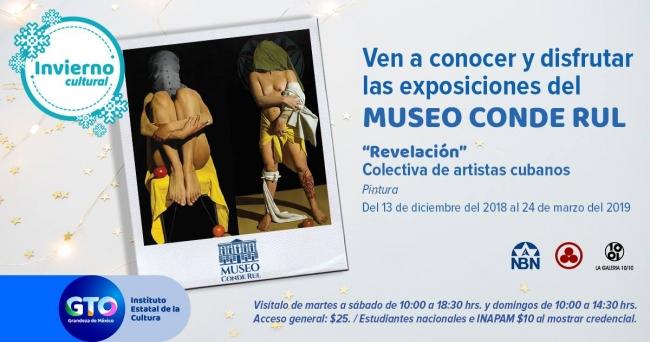 Revelación. Colectiva de artistas cubanos