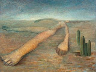 Tarsila do Amaral, Terra, 1943, oil on canvas, 24 × 31 1/2 inches