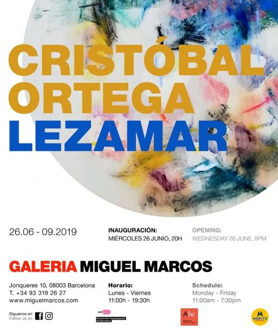 Invitación: Cristóbal Ortega. Lezamar