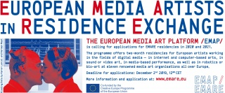 Convocatoria para artistas EMARE 2020-2021 de la Plataforma EMAP