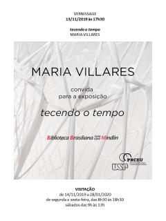 Maria Villares. Tecendo o tempo