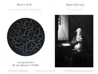 Bosco Sodi. Cuatro grandes alegorías // Kepa Garraza. Propaganda