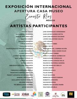 Afiche promoción Apertura Casa Museo Ernesto Rios