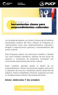 Herramientas clave para emprendimientos culturales