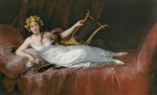 Francisco de Goya (1746-1828). La marquesa de Santa Cruz (1805). ©Archivo Fotográfico. Museo Nacional del Prado. Madrid — Cortesía del Museo de Bellas Artes de Bilbao