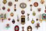 Mate corazón, objetos de Consuelo Vidal — Cortesía de la Galería Mar Dulce