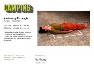 Camping: Natalia Fernandes. Anatomía y Estrategia