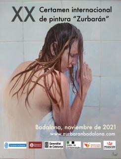 XX Certamen internacional de pintura Zurbarán - Cartel
