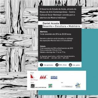 Daniel Acosta Desenho + Escultura + Mobiliário