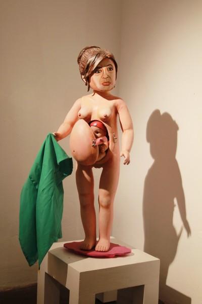 Nacimiento de la patria (Cristina Kirchner), pool y Marianela