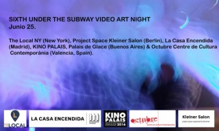 Sixth Under the Subway Video Art Night 2016