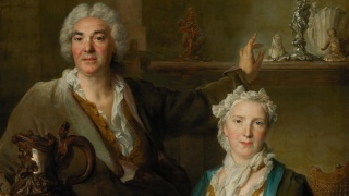 Nicolas de Largillierre. Retrato de Monsieur e Madame Thomas Germain